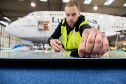 AeroSHARK-Folie von Lufthansa und BASF