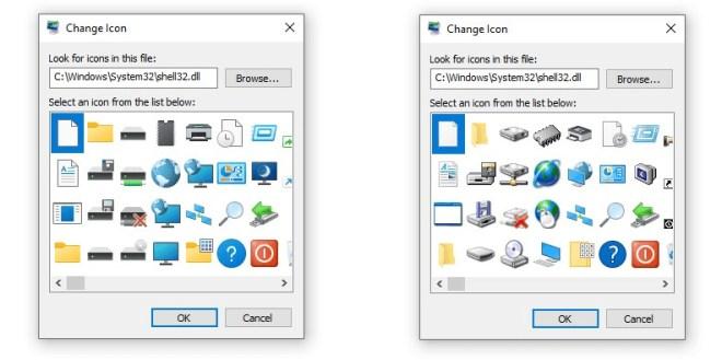Windows 10 21H2 Shell32-Icons