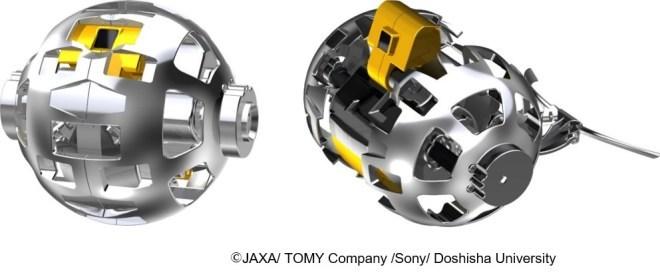 JAXA und Sony schicken Robo-Ball zum Mond