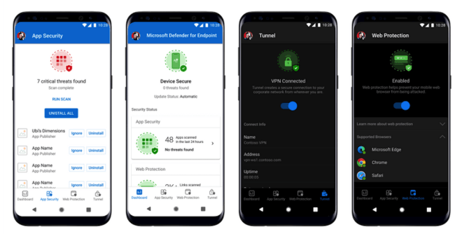 Microsoft Defender for Endpoint iOS und Android