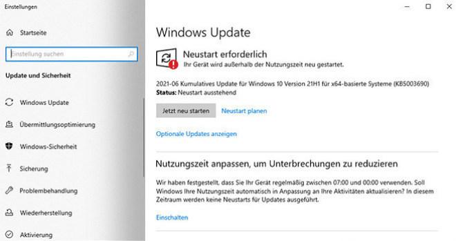 Windows 10 KB5003690