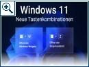 Windows 11: Das sind die neuen Tastenkombinationen