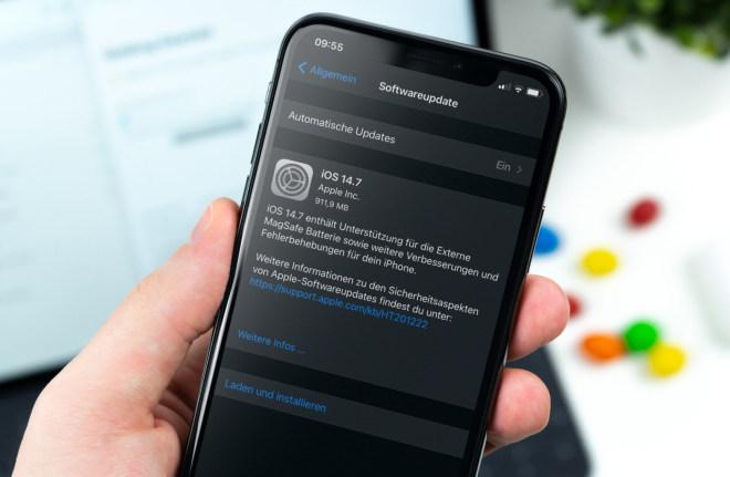 iOS 14.7 Neuerungen