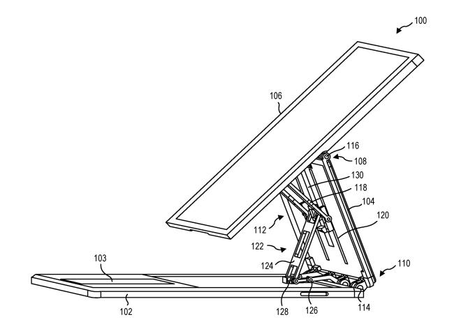 Microsoft-Patent: Computing Device Hinges