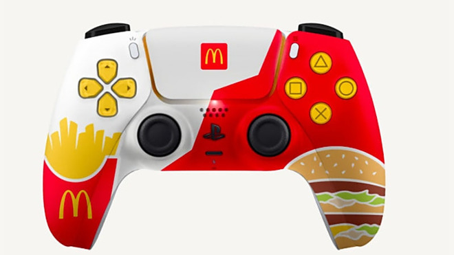 PS5-Controller von McDonald's