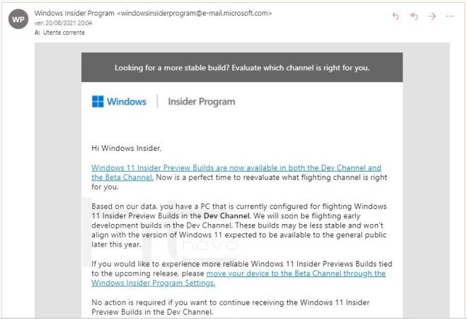 Windows 11 Dev Channel