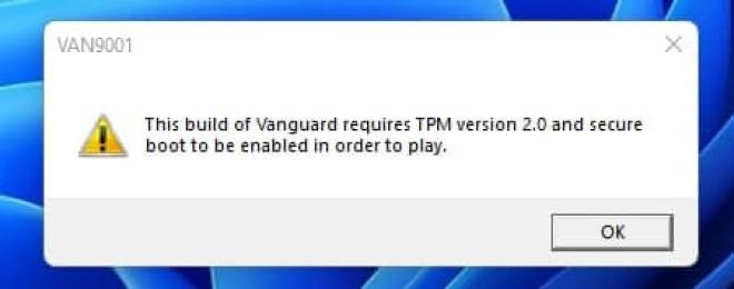 Valorant setzt unter Windows 11 TPM 2.0 voraus