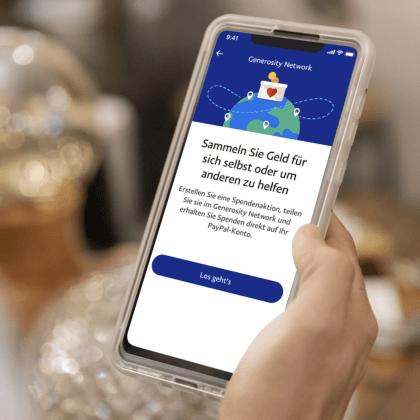 Nueva aplicación de PayPal