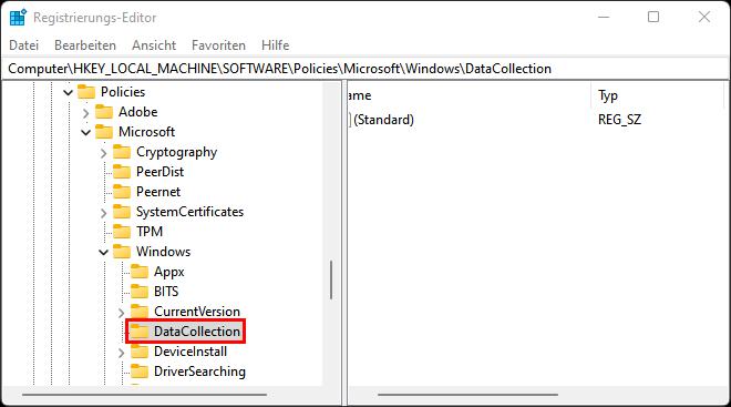 Windows 11 Telemetrie abschalten