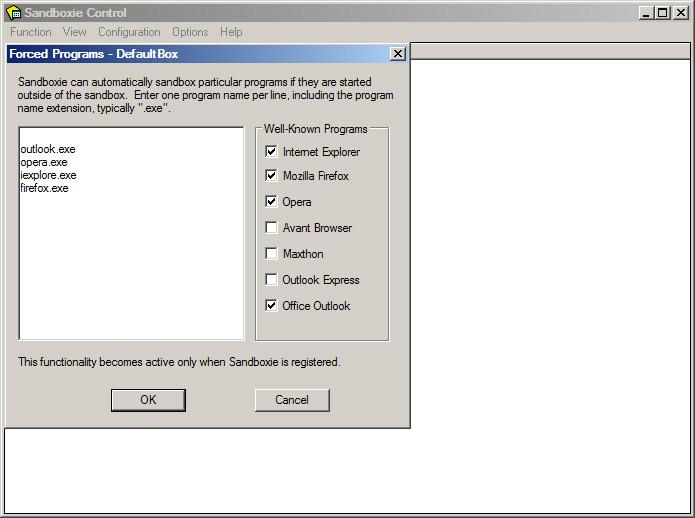 WinFuture de Software-Test: Sandboxie 2 86 - WinFuture de