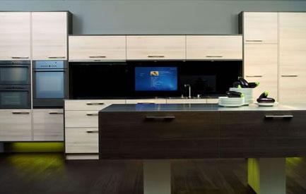 küchen mit eingebauten windows media center pcs - winfuture.de, Möbel