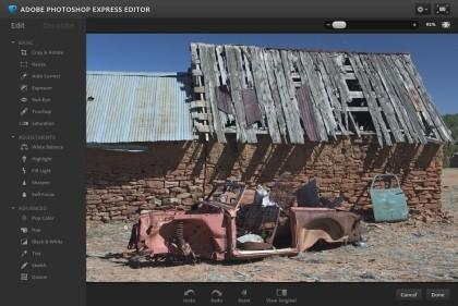 Photoshop Express (online)