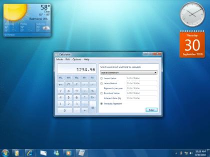 PDC 2008: Windows 7 (Offizielle Bilder)