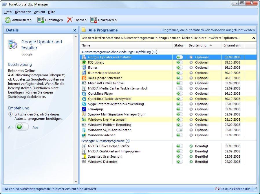 tuneup utilities 2009 kostenlos vollversion
