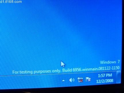 Windows 7 Build 6956 - Watermark