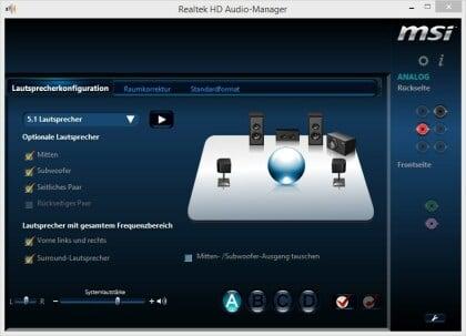 Realtek HD Audio Codecs - Audio-Treiber für Windows 7, 8, 10
