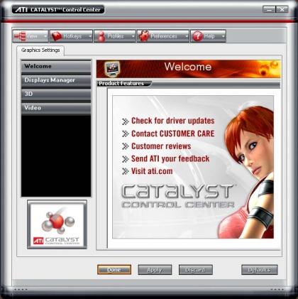 Grafikkarten-Treiber ATI Catalyst