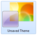 Windows 7: Ungespeicherte Themes