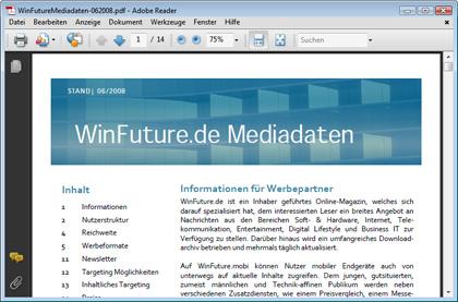 PDF-Reader Adobe Reader