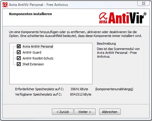 avira antivir neueste version