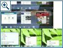 Windows 7 Interface-Prototypen