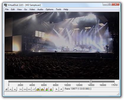 Videobearbeitung mit VirtualDub