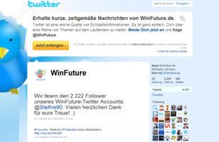 WinFuture bei Twitter