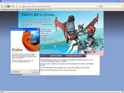 Firefox 3.5 Rc