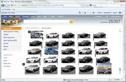 Bing 2.0 Visual Search