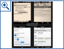 Windows Mobile 7 Interface Comparison