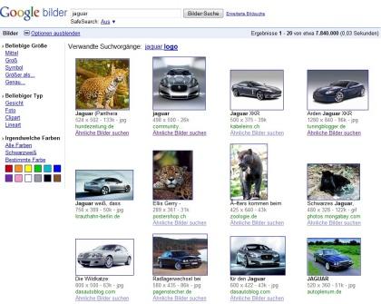 Google ähnliche Bilder
