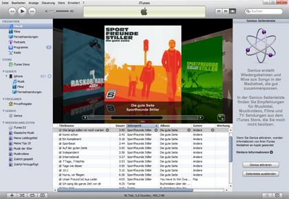 Multimedia-Suite Apple iTunes