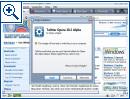Opera 10.20 mit Widgets - Bild 1