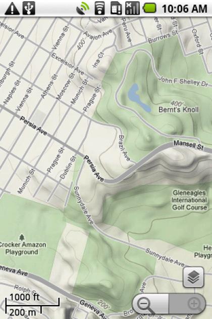 Google Maps Mobile 3.3