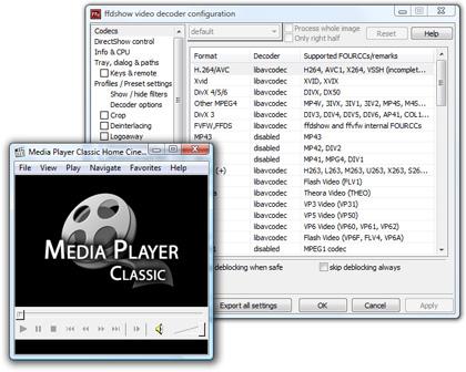 Audio- & Videocodec-Paket K-Lite Codec Pack