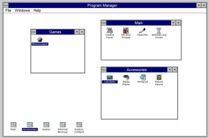 Windows 3.1 Emulator