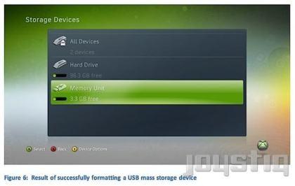 Xbox 360 USB-Massenspeicher