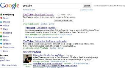 Google Suchdesign