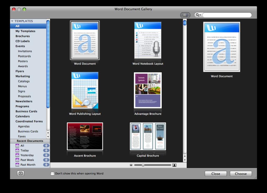 Office Mac Beta