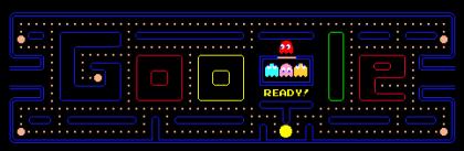 Google-Doodle: Pac-Man