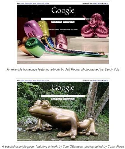 Google Hintergrundbilder