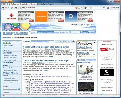 Firefox 4.0 Beta 2