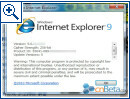 Internet Explorer 9: Interne Testversion