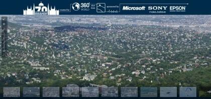 70 Gigapixel Budapest