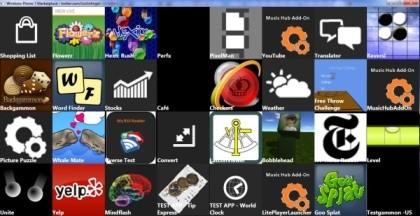 Windows Phone 7 Youtube und Yelp Apps