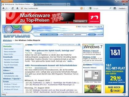 Firefox 4.0 Beta 4
