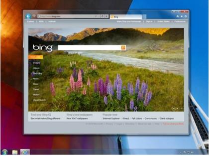 Internet Explorer 9 Benutzeroberfläche