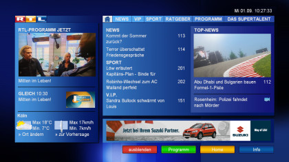 RTL digitaltext