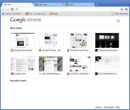 Google Chrome 6.0