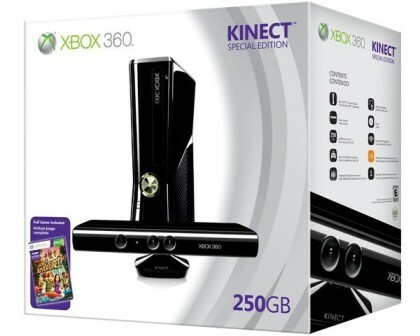 Xbox 360 250GB Special Edition with Kinect Bundle